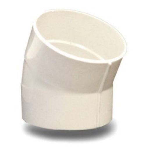 NDS - 4 Inch 22 1/2 Degree Solvent Weld PVC Elbow -  - Lawn and Garden  - Big Frog Supply