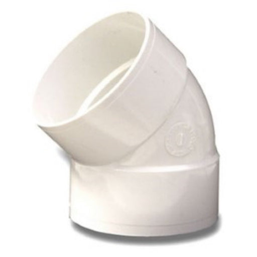 NDS - 6 Inch 45 Degree Solvent Weld PVC Elbow -  - Lawn and Garden  - Big Frog Supply