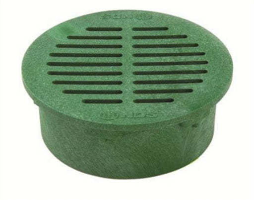 NDS - 6 Inch Green Round Grate -  - Lawn and Garden  - Big Frog Supply