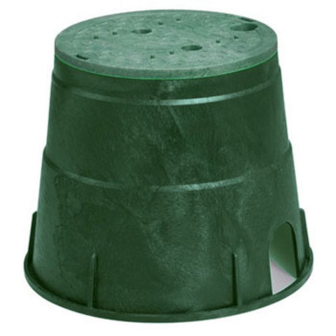 NDS - Pro Series 10 Inch Round Box and Overlapping Cover -  - Lawn and Garden  - Big Frog Supply