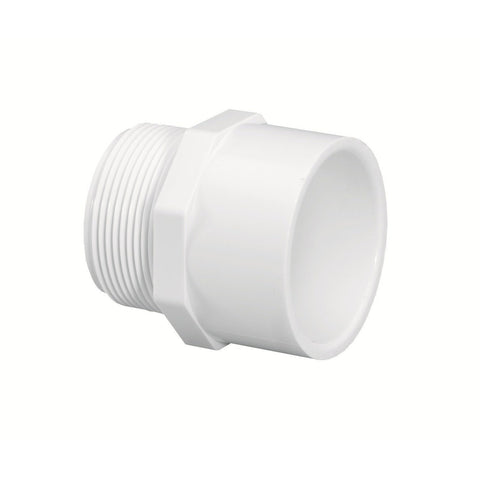 "Lasco - Schedule 40 MPT x Slip Male Adapter - 1/2"" - Lawn and Garden  - Big Frog Supply"