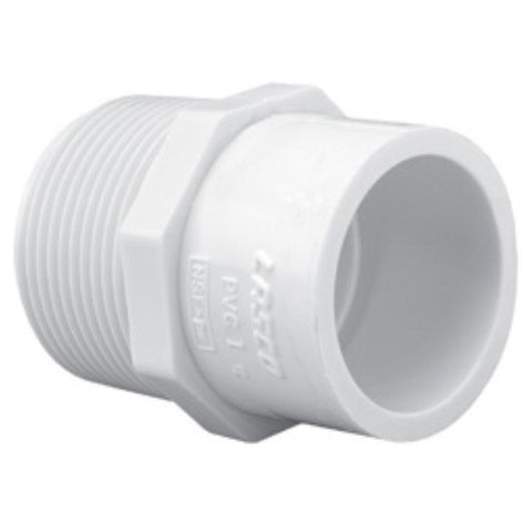 "Lasco - Schedule 40 MPT x Slip Reducing Male Adapter - 1/2"" X 3/8"" - Lawn and Garden  - Big Frog Supply"