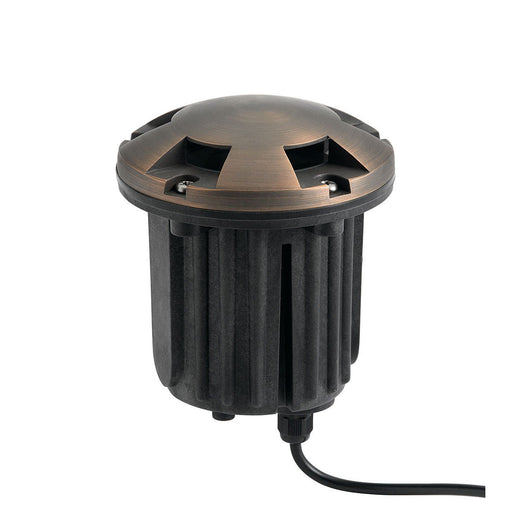 12V Brass Beacon In Ground CBR
