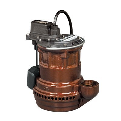 Liberty Pumps - 1/4 HP Cast Iron Submersible Sump Pump -  - Pumps  - Big Frog Supply