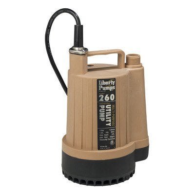 Liberty Pumps - 1/6 HP Submersible Utility Pump -  - Pumps  - Big Frog Supply