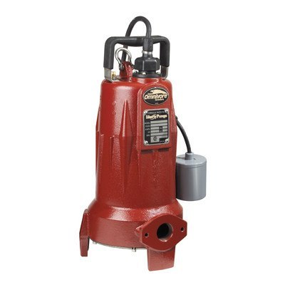 Liberty Pumps - 2 HP Submersible Grinder Pump with Switch -  - Pumps  - Big Frog Supply