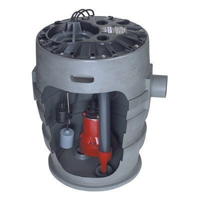 "Liberty Pumps - 21"" x 30"" Simplex Sewage System - 4/10 HP -  - Pumps  - Big Frog Supply - 1"