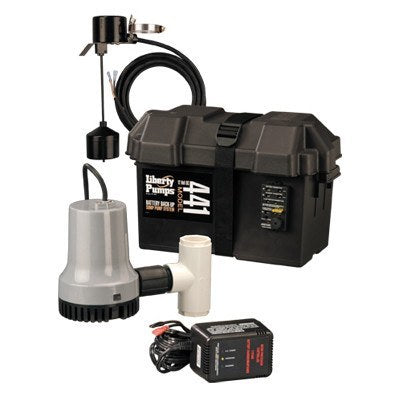 Liberty Pumps - Battery Back-Up Emergency Sump Pump System -  - Pumps  - Big Frog Supply