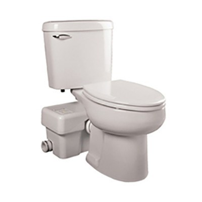 Liberty Pumps - Ascent II Macerating Toilet System - Elongated - Pumps  - Big Frog Supply