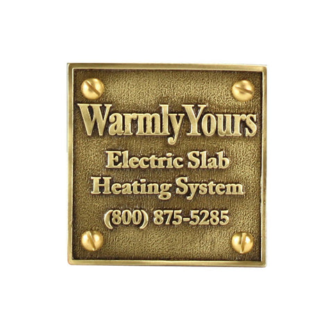 WarmlyYours - Plaque Snow Melt -  - Mechanical  - Big Frog Supply