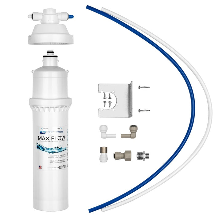 Under-Sink Max Flow Single Stage Drinking Water Filtration System