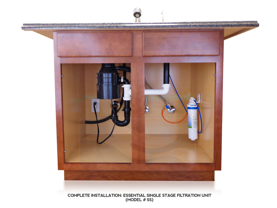 EWS - Under-Sink Single Stage Drinking Water Filtration System -  - Mechanical  - Big Frog Supply - 3