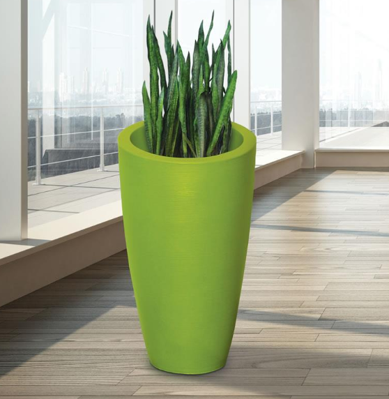Mayne - Modesto 32in Tall Planter - Macaw Green