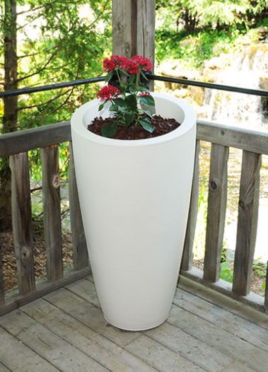 Mayne - Modesto 42in Tall Planter - Macaw Green