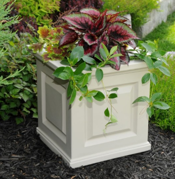 Mayne - Nantucket 16 x 16 Planter - White