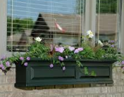 Mayne - Nantucket Window Box 2' -  Black