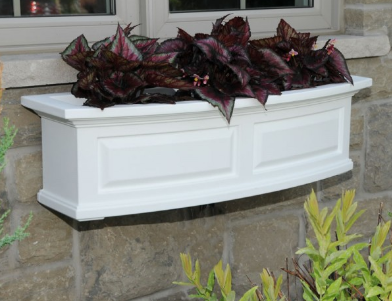 Mayne - Nantucket Window Box 4' - Red