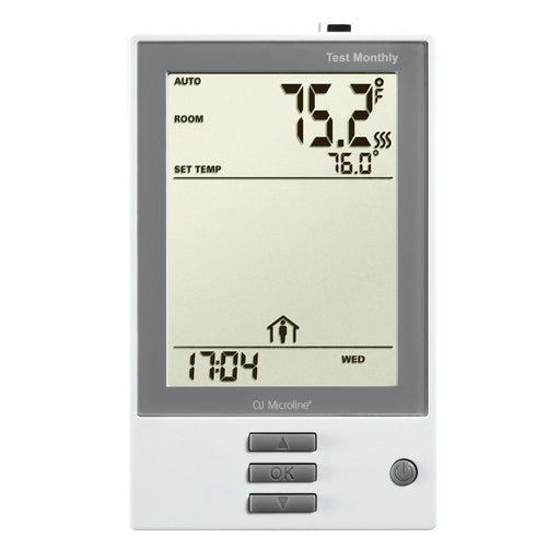 NHance: Thermostat. Programmable, Class A GFCI, W/Floor Sensor