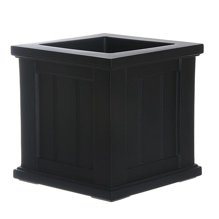 Cape Cod Patio Planter 14x14 Black