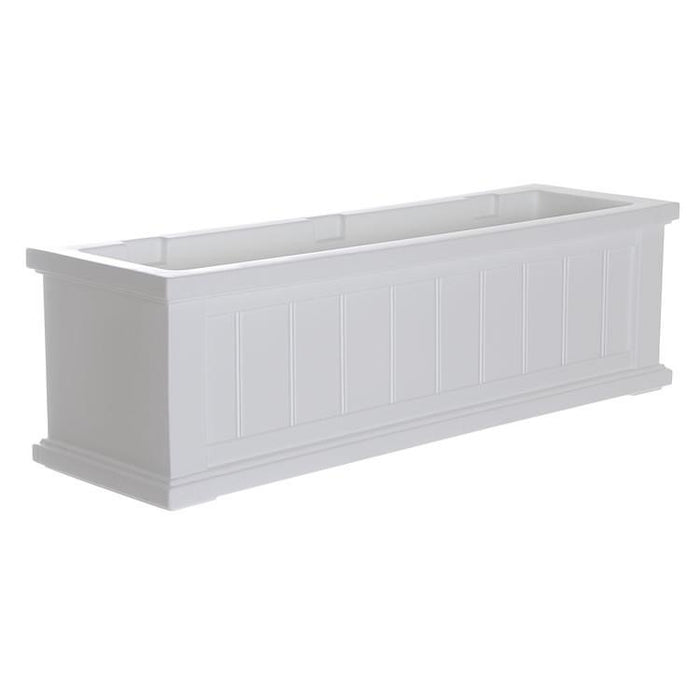 Cape Cod Window Box 3FT White