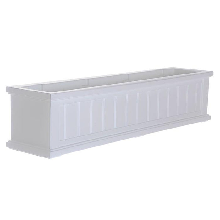 Cape Cod Window Box 4FT White