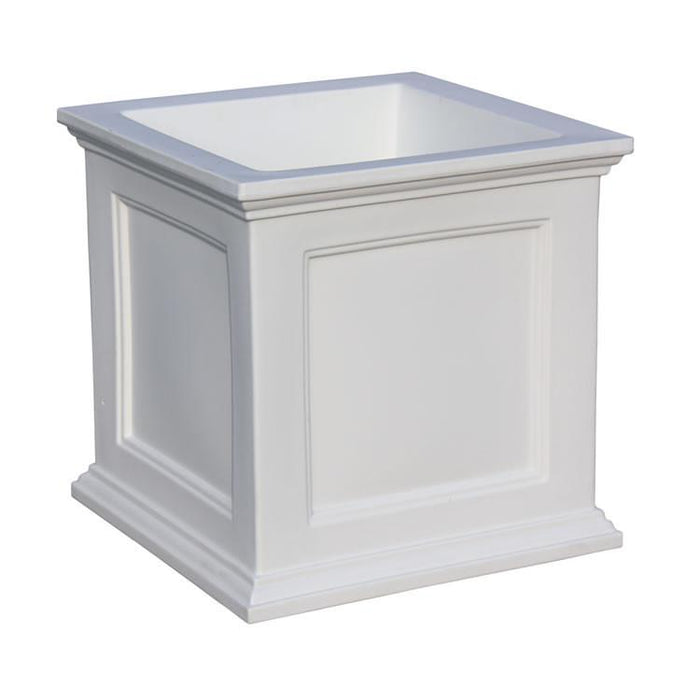 Fairfield Patio Planter 20x20 White