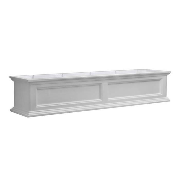 Fairfield Window Box 5FT White