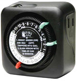 Paige Electric Corporation - Plug in Mechanical Timer Outdoor Rated -  - Outdoor Lighting  - Big Frog Supply