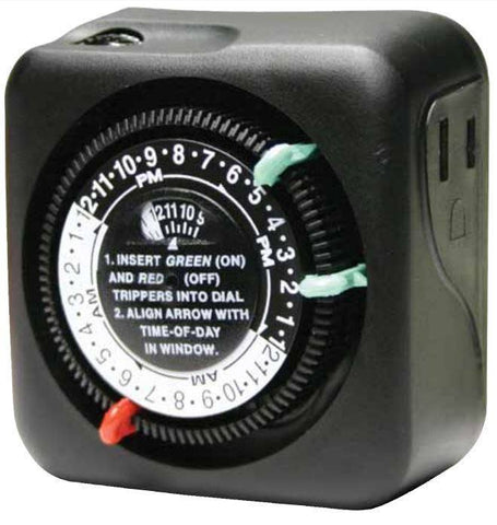 Intermatic - Plug in Mechanical Timer Outdoor Rated -  - Outdoor Lighting  - Big Frog Supply