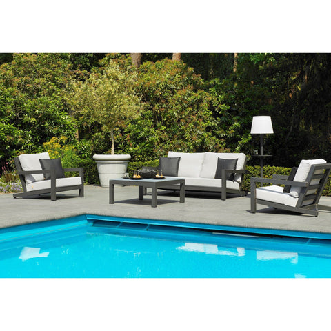 Bellini - Block Lava 4 Pc Deep Seating Set