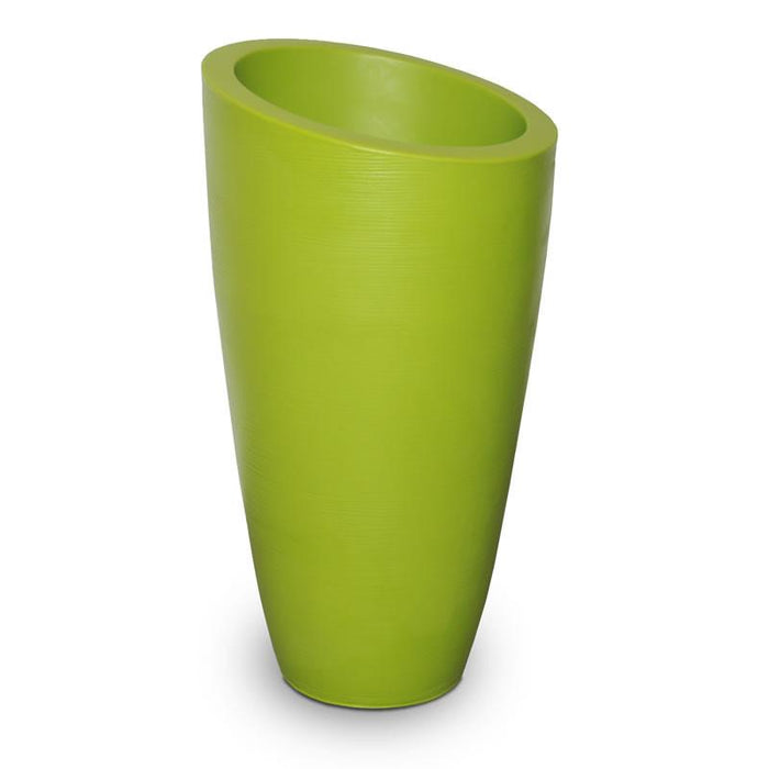 Modesto 42in Tall Planter - Macaw Green