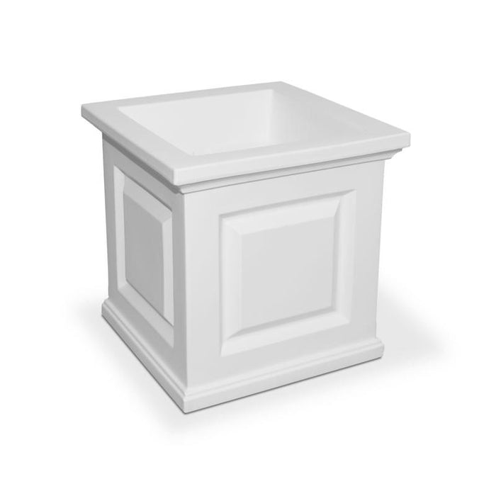 Nantucket 16x16 Planter White
