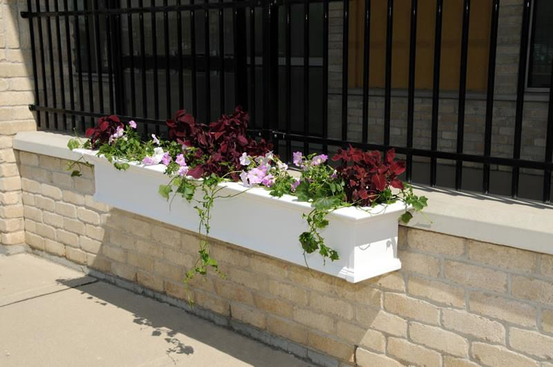 "Yorkshire Window Box 7FT White ""KD"""