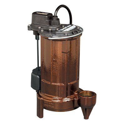 Liberty Pumps - 1/2 HP Submersible Effluent/Sump Pump -  - Pumps  - Big Frog Supply