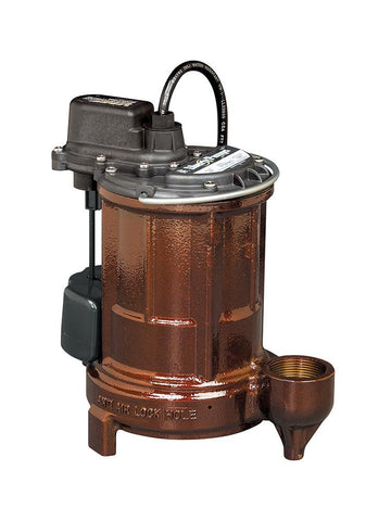 1/3 hp Cast Iron Sump/Effluent Pump with Vertical Magnetic Float (VMF)
