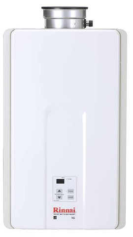 Rinnai - Rinnai V65IP 6.6 GPM Indoor Low NOx Tankless Propane Water Heater - No, Don't Include Valves (+$0.00) - Tankless Water Heater  - Big Frog Supply