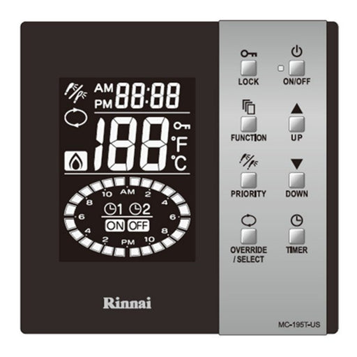 Rinnai - Rinnai Digial Recirculation Controller MC-195T-US -  - Water Heater Controllers  - Big Frog Supply