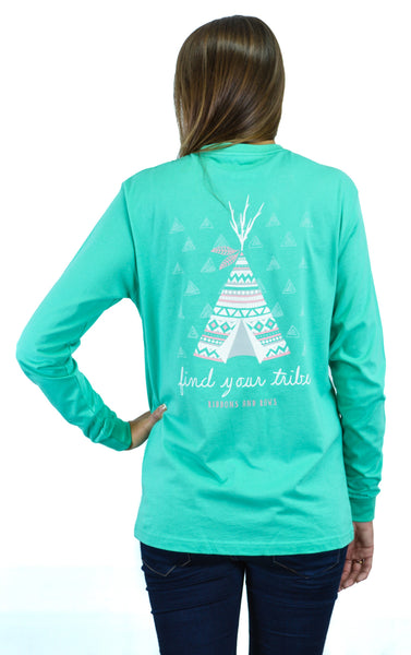FIND YOUR TRIBE in SEAFOAM