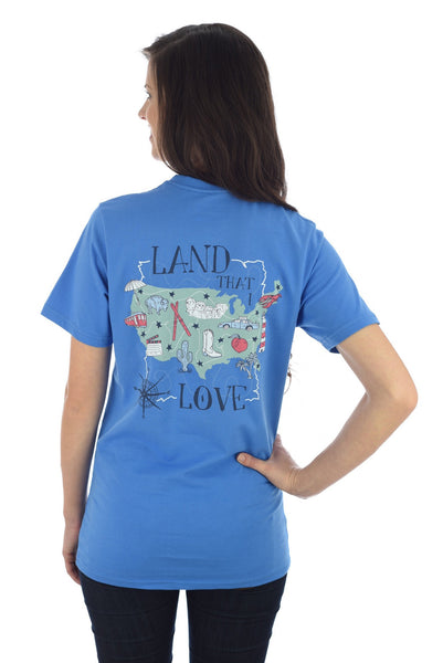 LAND I LOVE TEE in OCEAN
