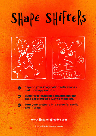 Shape Shifters Activity Book (46pg)