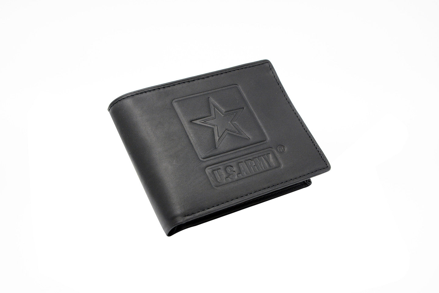 U.S. Army Leather Bifold Wallet (12pc case)