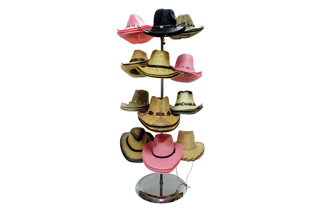 Cowboy Straw Hats (12pc case)