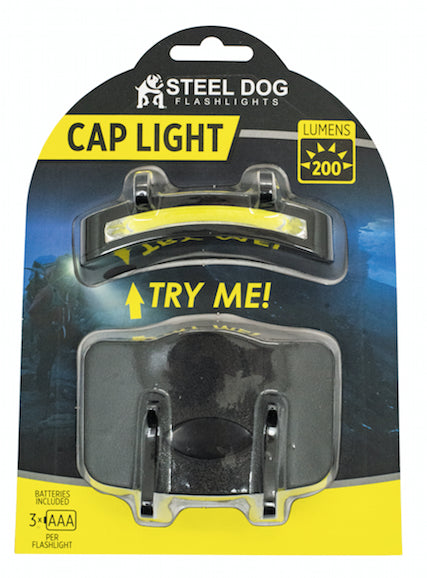 Steel Dog 2pk Cap Light (16pc case)
