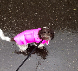 Cerise Waterproof Coat