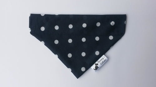 Navy Dot Bandana