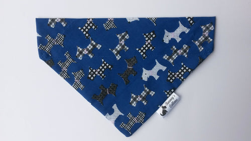 Blue Dogs Bandana