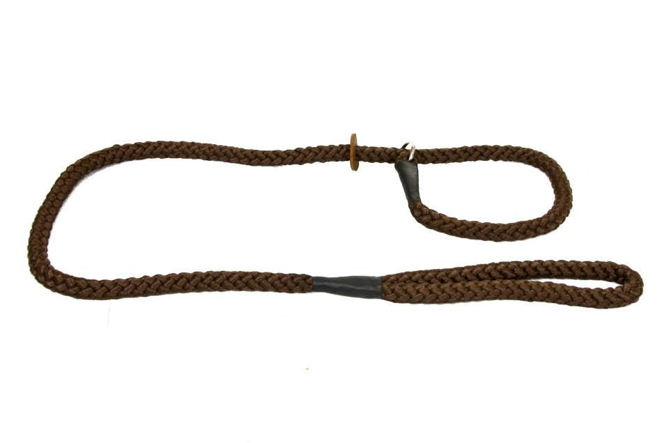 Brown Rope Slip Lead