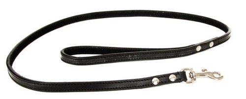 Black Leather Lead