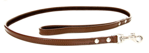 Brown Leather Lead