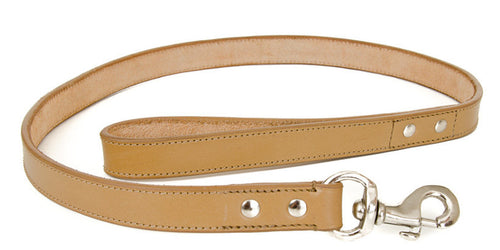 Tan Leather Lead